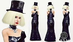 Sims 3 dress, cloth, clothing, outfit, fashion, hat
