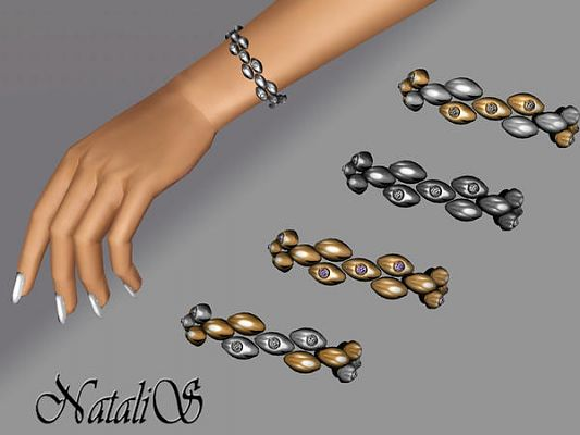 Sims 3 bracelet, jewelry, accessory, crystal