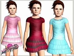 Sims 3 outfit, clothing, fashion, child, accessories, sims3
