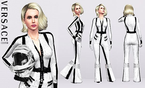 Sims 3 bodysuit, outfit, clothing, fashion, female, sims3