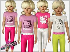 Sims 3 sleepwear, fashion, pajama, female, sims3