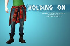 Sims 3 jeans, denim, bottom