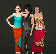 Sims 3 skirt, clothing, clothes, jeans, shorts
