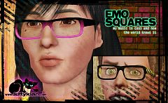 Sims 3 accessories, glasses