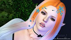Sims 3 hair, accessories, headwear, female, sims3