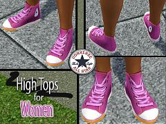Sims 3 shoes, converse