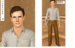 Sims 3 sims, male, celebrity