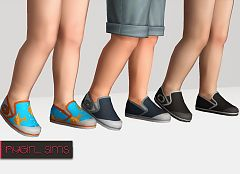 Sims 3 sneakers, shoes, toddler, flats