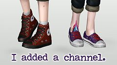 Sims 3 shoes, footwear, sneakers