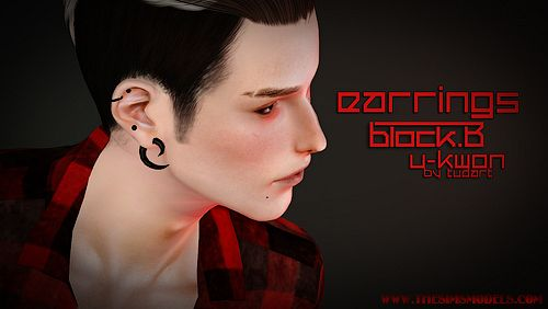 Sims 3 earrings, accessories, jewelry, male, sims3