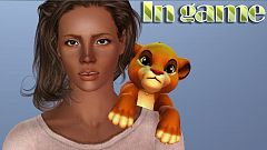 Sims 3 lion king, accessory