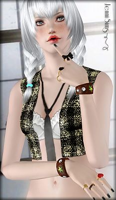 Sims 3 bracelet, jewelry, accessories, fashion, female, sims3