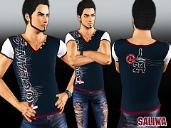 Sims 3 male, tee, top, clothing, sims3
