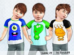 Sims 3 cloth, clothing, t-shirt