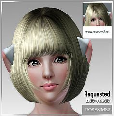 Sims 3 ears, accessories