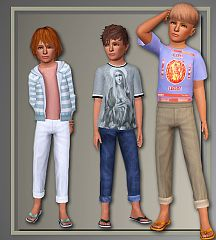 Sims 3 pants, bottom, clothing, clothing