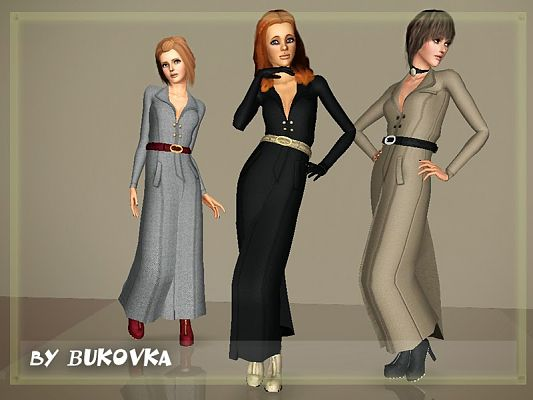 Sims 3 outfit, fashion, clothing, female, coat
