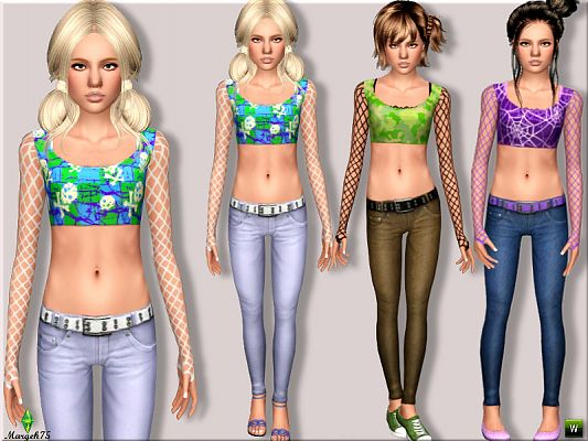 Sims 3 outfit, fashion, clothing, female, sims3