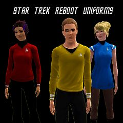 Sims 3 star trek, clothing, uniform, fashion, movie