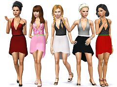 Sims 3 outfit, clothing, fashion, dress, female, sims3