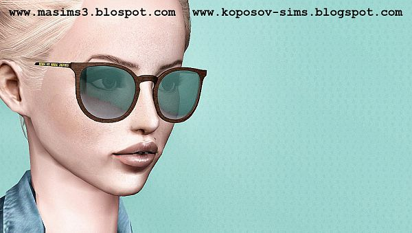 Sims 3 sunglasses, glasses, accessory