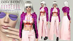 Sims 3 outfit, fashion, clothing, female, shoes