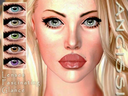 Sims 3 eye, eyes, contact lenses