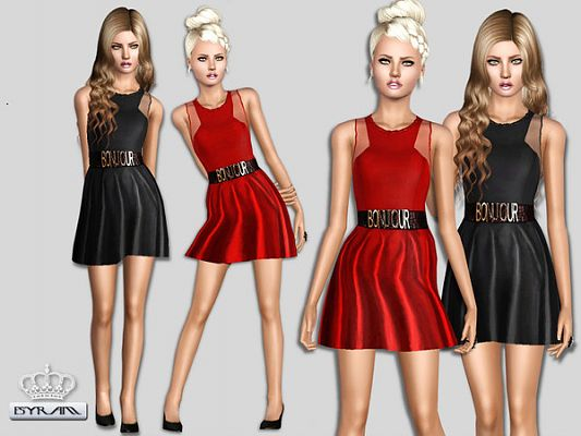 Sims 3 dress, cloth, clothing, outfit, fashion