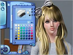 Sims 3 eyes, makeup, female