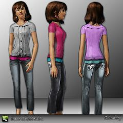 Sims 3 clothing, fashion, outfit