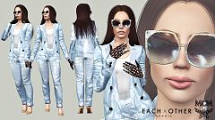 Sims 3 outfit, clothing, fashion, sunglasses, female, sims3