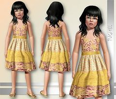 Sims 3 dress, clothing, girls