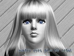 Sims 3 eyes, contacts, makeup