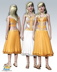 Sims 3 clothing, dress, formal, everyday, sims3, fashion