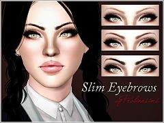 Sims 3 eye, eyebrows, makeup