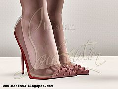 Sims 3 shoes, toe, heels, pumps
