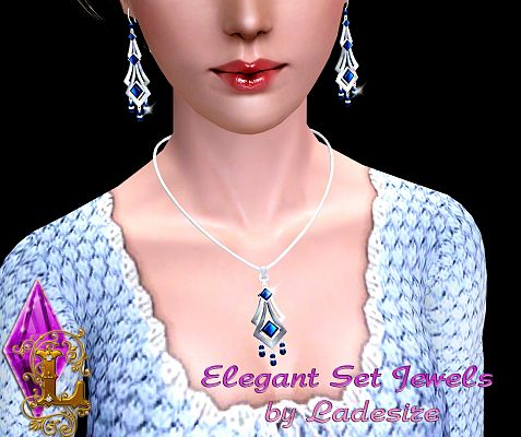 Sims 3 necklace, accessories, jewelry, female, sims3