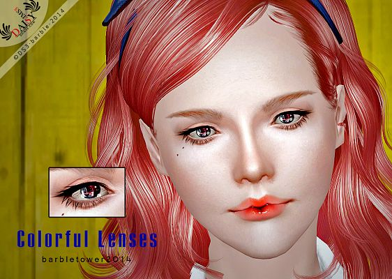 Sims 3 eye, eyes, contact lenses, poses