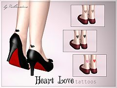 Sims 3 tattoo, accessories, sims3