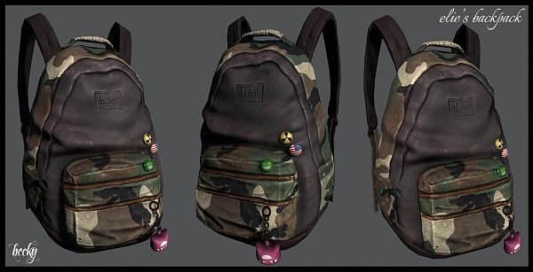 Sims 3 backpack, accessory