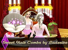 Sims 3 accessory, hair accessory