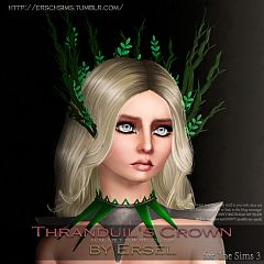 Sims 3 crown, accessory