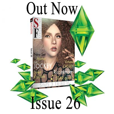 Sims 3 sf magazine, summer, issue