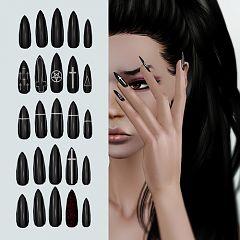 Sims 3 Nail Accessory Females