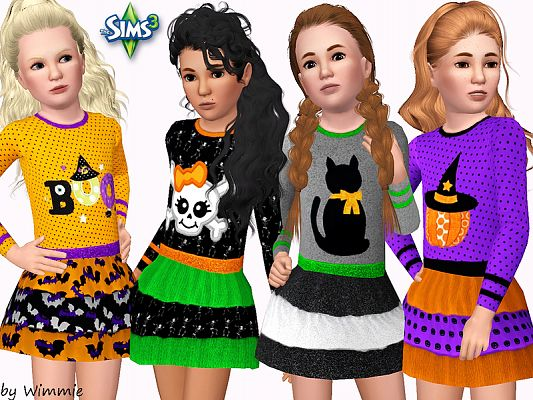 Sims 3 outfit, fashion, clothing, female, child, sims3