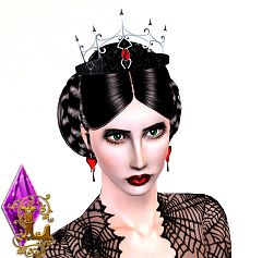 Sims 3 accessory, objects, tiara