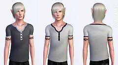 Sims 3 clothing, fashion, shirts, male