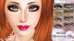 Sims 3 eyelashes, makeup, fashion, sims3