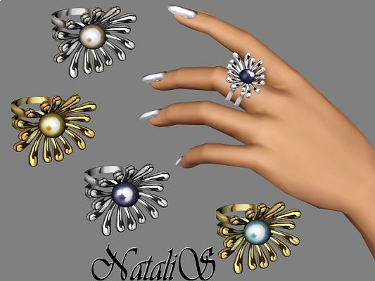 Sims 3 ring, jewelry, accessories, fashion, female, sims3