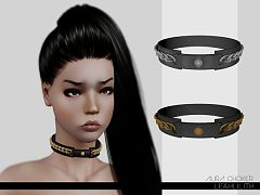 Sims 3 choker, necklace, jewelry